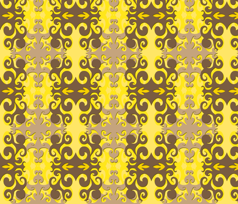 SCK - Fall Damask 1 fabric by stacyck on Spoonflower - custom fabric