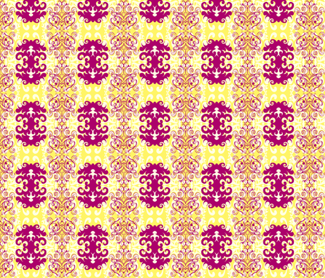 SCK - Spring Damask fabric by stacyck on Spoonflower - custom fabric
