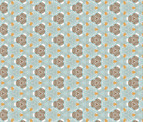 moroquaisetrois fabric by cottageindustrialist on Spoonflower - custom fabric