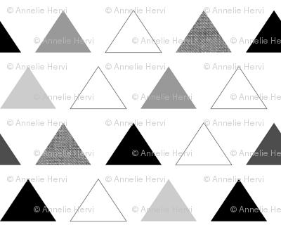 Black & White Triangles