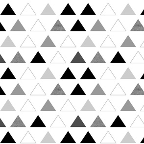 Black & White Triangles