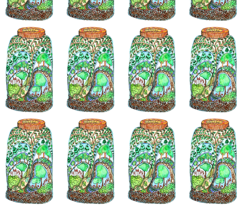 treearium fabric by wiccked on Spoonflower - custom fabric