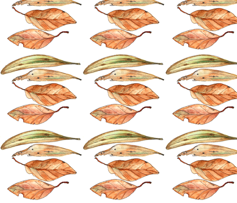 Gumleaves fabric by wiccked on Spoonflower - custom fabric