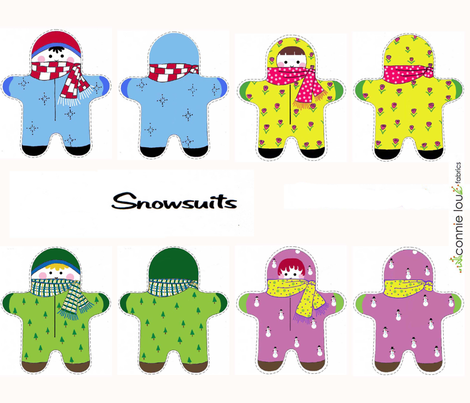 snowsuits1_copy_copy_copy fabric by connielou on Spoonflower - custom fabric