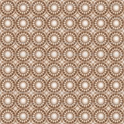 Sepia Flower Stars