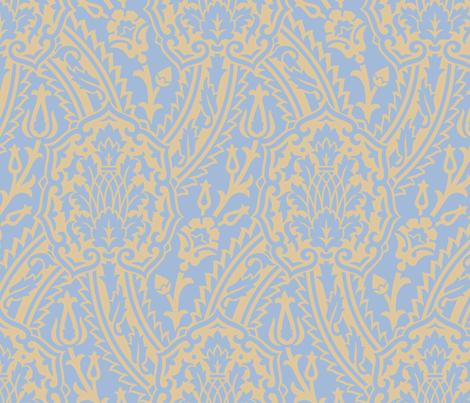 Damask 10f fabric by muhlenkott on Spoonflower - custom fabric