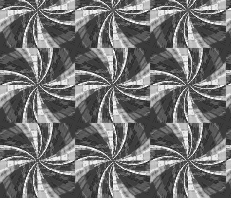 bw_pinwheel_Picnik_collage fabric by khowardquilts on Spoonflower - custom fabric