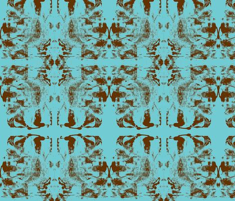 JamJax Turquoise fabric by jamjax on Spoonflower - custom fabric