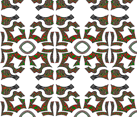 JamJax Holly fabric by jamjax on Spoonflower - custom fabric