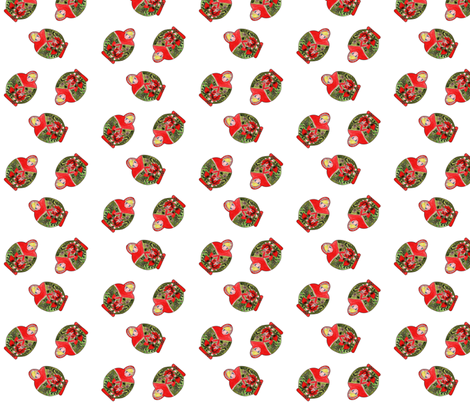 matrioschka  dance fabric by nadja_petremand on Spoonflower - custom fabric