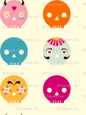 Sugary Sweet Skulls