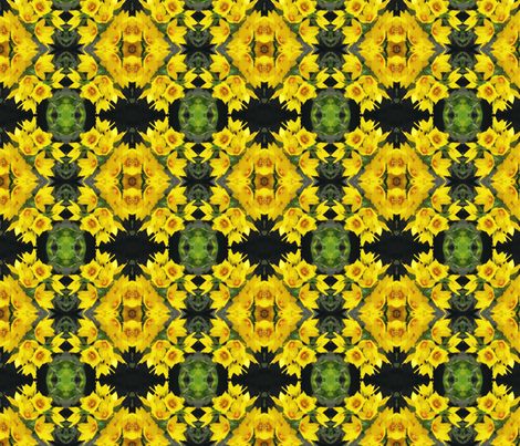 cross_post_45_close_up_yellow_loose_strife_6_28_09_006 fabric by khowardquilts on Spoonflower - custom fabric