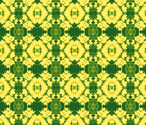 duo_tone_cross_post_45_close_up_yellow_loose_strife_6_28_09_006-ch-ch fabric by khowardquilts on Spoonflower - custom fabric