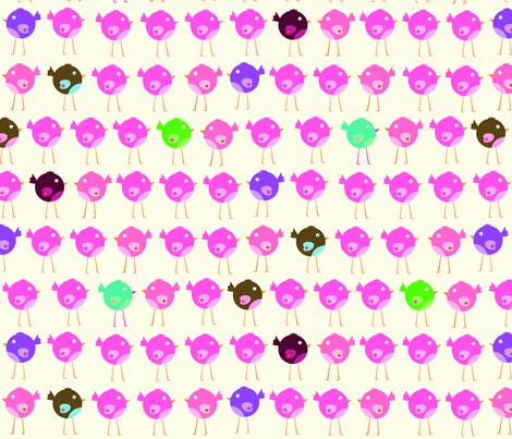 bitty_birds fabric by petunias on Spoonflower - custom fabric