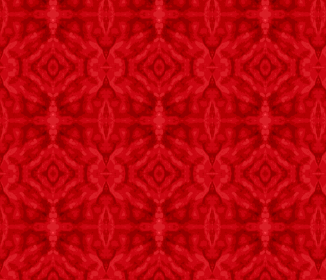 6 mirrored_red_naturtium_petal_Picnik_collage-ch-ch fabric by khowardquilts on Spoonflower - custom fabric