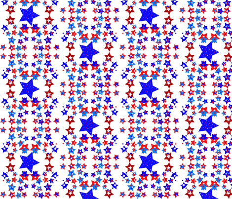 JamJax Stars fabric by jamjax on Spoonflower - custom fabric