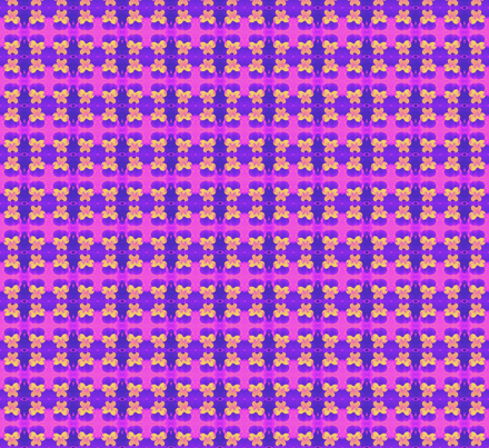 s_e_c_purple_and_yellow_johnie-jump-ups_6_28_09_006 fabric by khowardquilts on Spoonflower - custom fabric