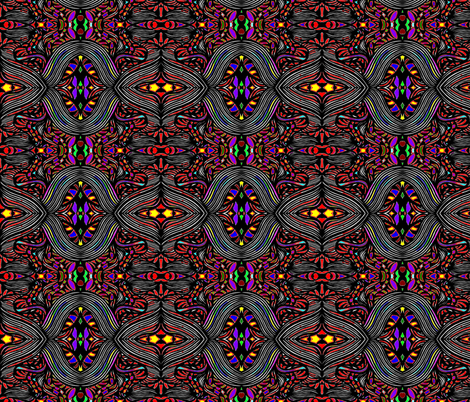 JamJax Stained Light fabric by jamjax on Spoonflower - custom fabric