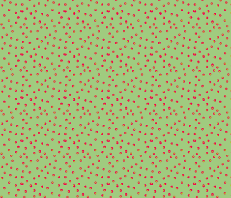 Spot Green fabric by linesmith on Spoonflower - custom fabric