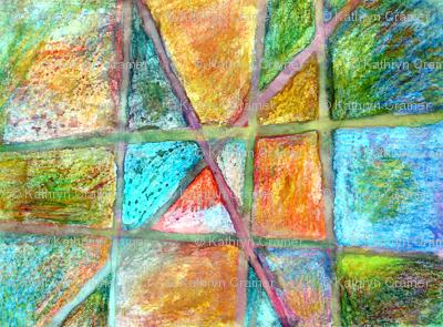 Crayon & Watercolor