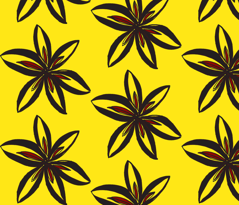 JamJax Yellow Jacket fabric by jamjax on Spoonflower - custom fabric