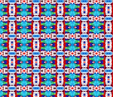 Dripping Triangles fabric by pinkchamplain on Spoonflower - custom fabric