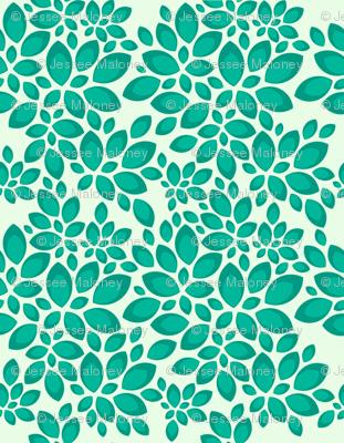 Leaves - Teal