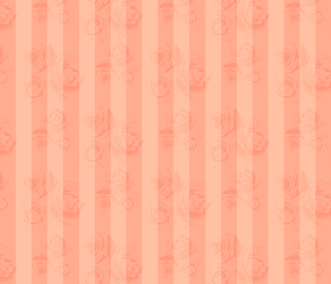 RosyStripes fabric by tammikins on Spoonflower - custom fabric