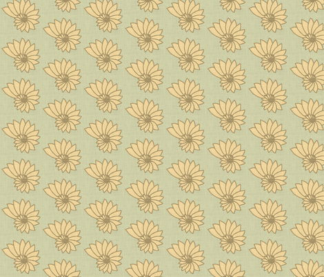 nautilus linen fabric by holli_zollinger on Spoonflower - custom fabric