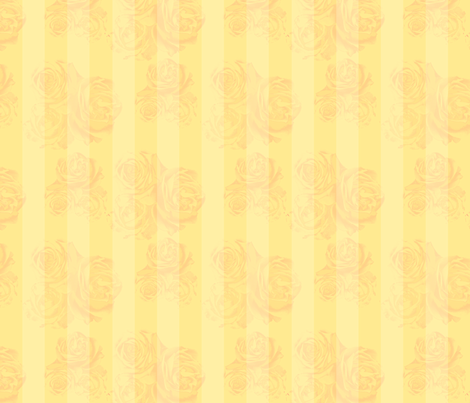 RosyStripes-Golden fabric by tammikins on Spoonflower - custom fabric