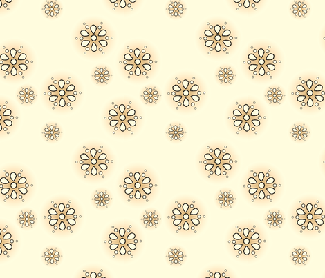 EverEyelet-TeaStained fabric by tammikins on Spoonflower - custom fabric