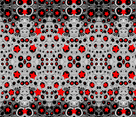 JamJax Red Bubbles fabric by jamjax on Spoonflower - custom fabric