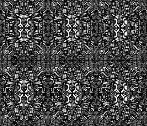 JamJax Vertical Bows fabric by jamjax on Spoonflower - custom fabric