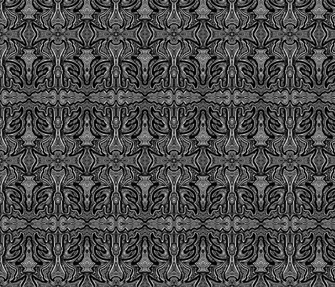 JamJax Black Bird fabric by jamjax on Spoonflower - custom fabric