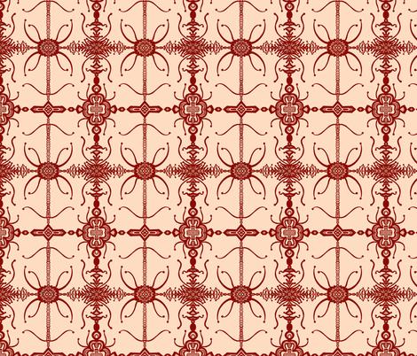 JamJax Iron Gate  fabric by jamjax on Spoonflower - custom fabric