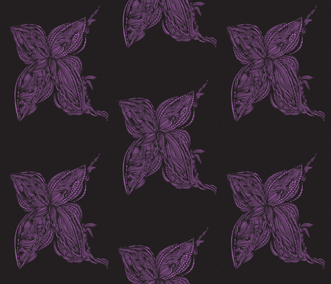 JamJax Black Back fabric by jamjax on Spoonflower - custom fabric