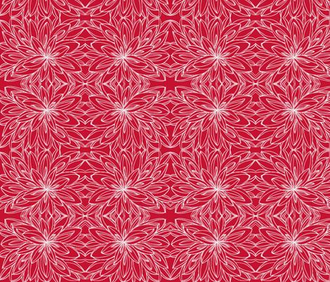 JamJax  red on red fabric by jamjax on Spoonflower - custom fabric
