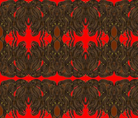 JamJax Redhead fabric by jamjax on Spoonflower - custom fabric