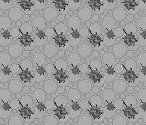 Turtle Grey-113 fabric by kkitwana on Spoonflower - custom fabric