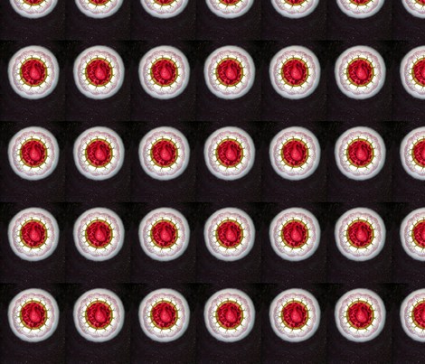Earth Heart fabric by helenklebesadel on Spoonflower - custom fabric