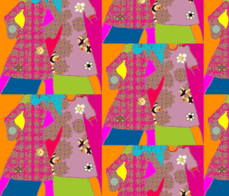 girly fabric by snork on Spoonflower - custom fabric