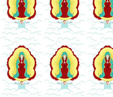 Guadelupe fabric by thirdhalfstudios on Spoonflower - custom fabric