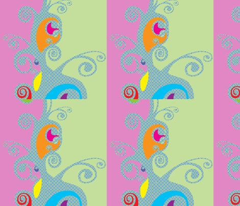 tadaa fabric by snork on Spoonflower - custom fabric