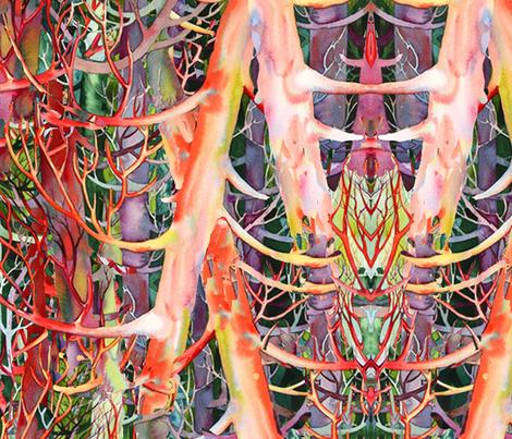 Cedar Dancers fabric by helenklebesadel on Spoonflower - custom fabric