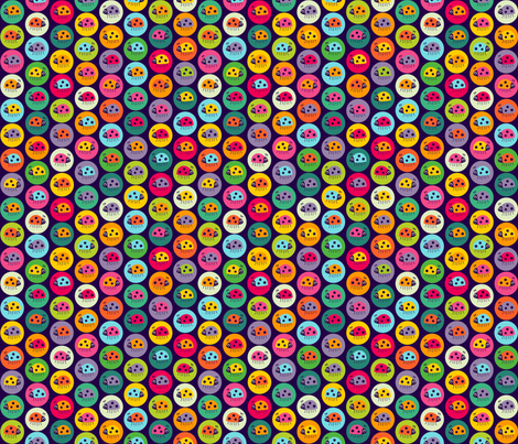 Spot the Small Bug fabric by spellstone on Spoonflower - custom fabric