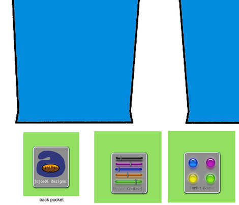 Full_Pockets_Pants_by_Jojoebi fabric by jojoebi_designs on Spoonflower - custom fabric