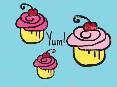 Yum cupcakes