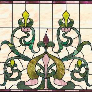 Stained Glass Wholecloth
