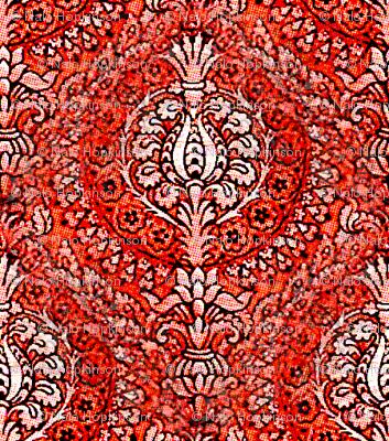 Tapestry, Orangey Reds
