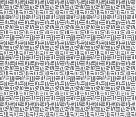 Grey Dash fabric by daniellerenee on Spoonflower - custom fabric